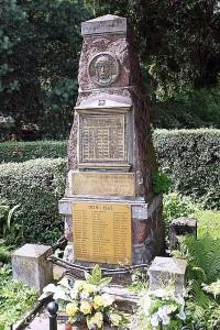 Pomnik-obelisk ku czci ofiar I i II wojny światowej