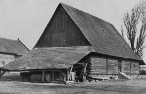 Spichlerz w Rachowicach zdj. archiwalne