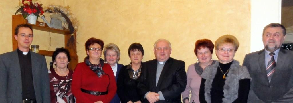 Zarząd Caritas Parafii 2013r