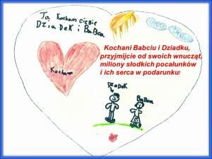 Życzenia dla Babci i Dziadka 2015 r.