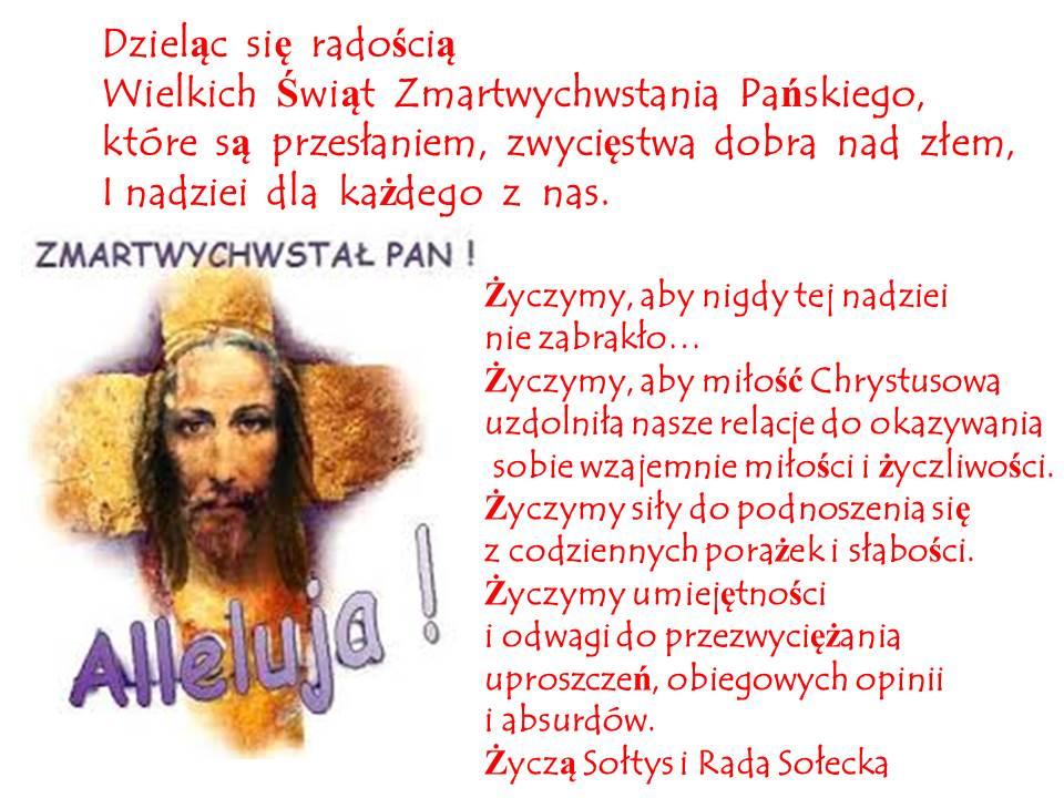 Życzenia Wielkanocne I