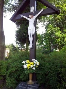Docelowy krzyż procesji w dni krzyżowe