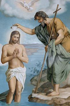 Chrzest P. Jezusa w Jordanie